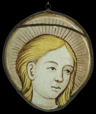 A beautiful Stained Glass Roundel