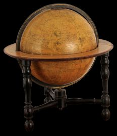 A Newtons New and Improved 12 inch Celestial Table Globe