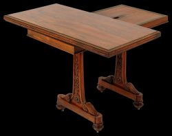 A Superb Rosewood Card table by T & G Seddon Circa 1830