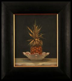 Pineapple in a Dish